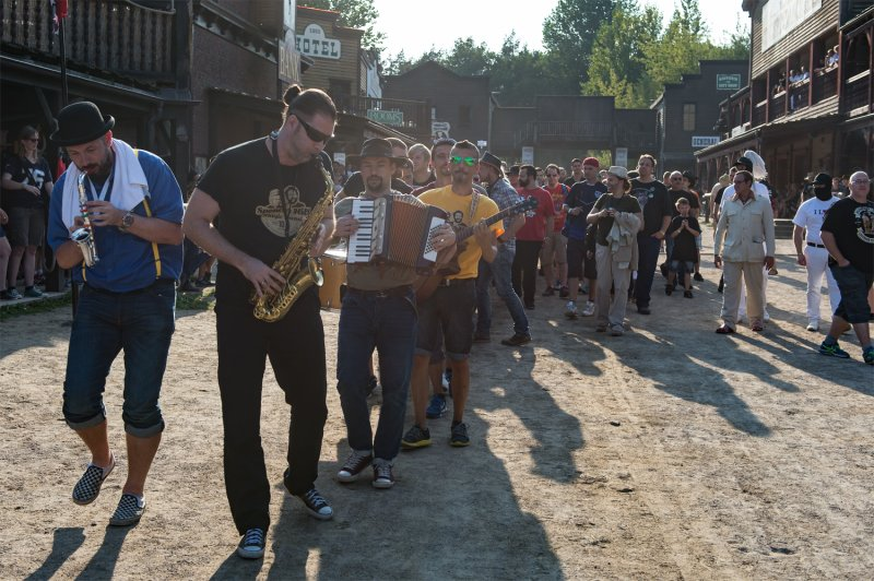 Musikalische Parade