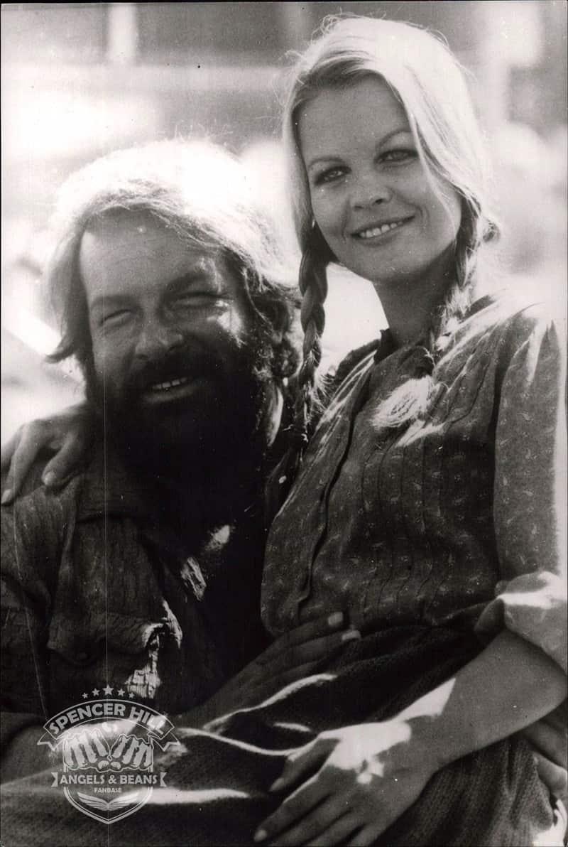 Gisele Hahn mit Bud Spencer